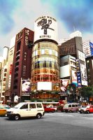 Ginza Afternoon by Tokyo-Slim