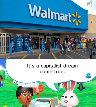 My thoughts when I visit a Wal-mart by GreenDoer