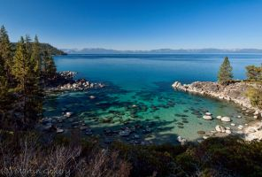 Lake Tahoe Cove by MartinGollery