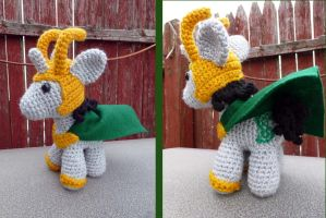 Loki,God of Mischief by MilesofCrochet