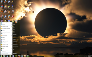 Windows 7 Theme - Moon Eclipse by Windowsthememanager