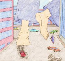 Giantess Peggy Hill 2 by XxSumRaNdOmGuYxX