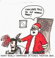 Santa killed lincoln 2 by augustusceaser