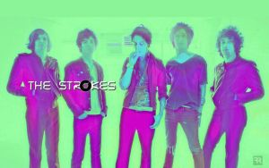 The Strokes WALLPAPER 2013 by FilipR8
