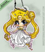 [OLD] Princess Serenity Keychains by ImHisEternalAngel