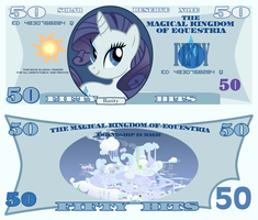 Rarity 50 Bits Bill by cradet