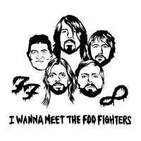 I Wanna Meet The Foo Fighters by Nylse