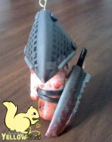 Pyramid Head from Silent Hill Polymer clay by yuisama