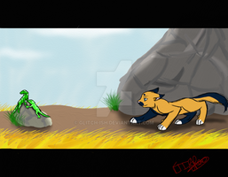 Fireclan Assignment: Hunting Reptiles by glitch-ish
