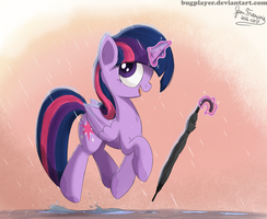 Your water magic has no power on me by Bugplayer