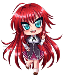 Chibi Commission DxD by DreaChu