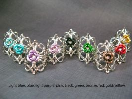 9 other colors of rings avail by AngelElementsEtsy