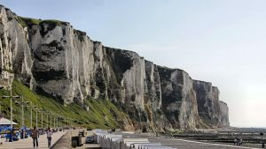 Chalk cliff - Le Treport - Normandy by UdoChristmann