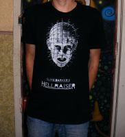 Pinhead from Hellraiser by ikorolkov