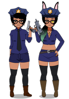 :Outfit fun: Cops by your-INS4NITY