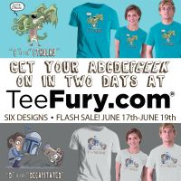 ABCDEFGeek TeeFury In Three Days by OtisFrampton