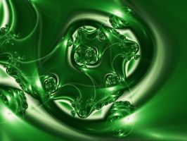 Emerald by FractalMBrown