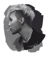 Speed painting |G-Dragon by LT-Av