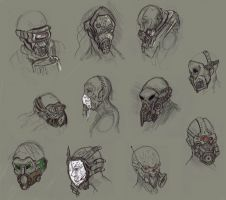 Gas Mask Ideas by AdrianNagorski