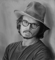 Johnny Depp 4 Hour Paint by Chachava