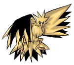 Zapdos by DeadGirlsLikeMe