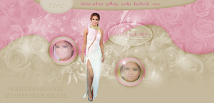 Selena HEADER by MyHappinessLaali