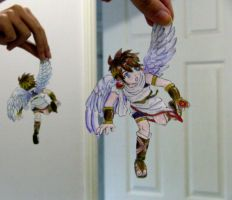 Paper Kid Icarus by Ethereal-Asphixia