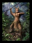 Jungle Warrior by Keriberrygirl