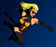 Ms. Marvel by Agent-Foo