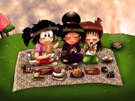 Asian Picnic by Rokku-D