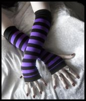 Grimoire's Grasp Arm Warmers by ZenAndCoffee