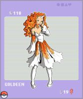 Gijinka Pokemon 118 Goldeen by saurodinus