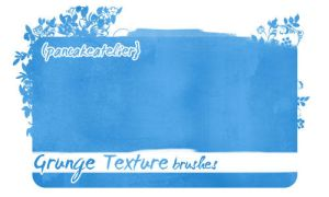 Grunge Texture Brushes by pancakeAtelier