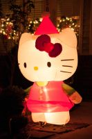 Inflatable Hello Kitty by LDFranklin