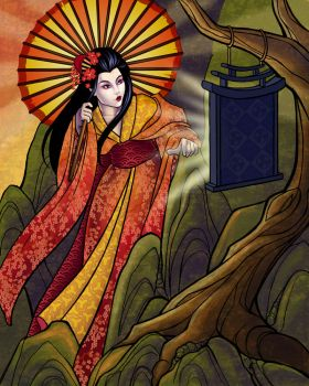 Amaterasu by JessiBeans