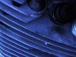 Close Up - Motorcycle Head by armageddon