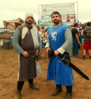 Meeting of Two Norman Knights by DerekAshcroft