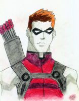 YJ Red Arrow's Bust by SMLtheGRartist