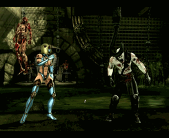 Blonde Mileena Fatality GIF by ArRoW-4-U