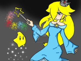 Princess Rosalina by AngellaEngels