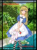 Alice in Wonderland by Lucy--chan