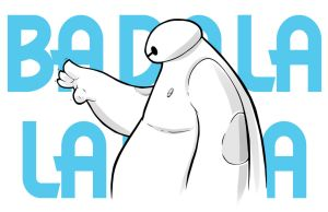 Baymax Fist Bump by Paterack