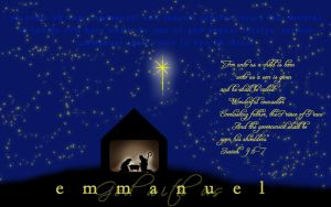 For Unto Us a Child Is Born by Ariniel