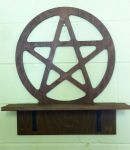 Large Pentacle Altar by VandrefalkForge