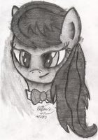 Octavia Sketch by AncientOwl