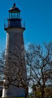 Lighthouse Port Isabel, Texas by DleeKirby