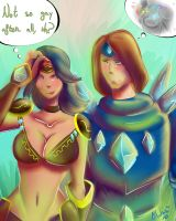 LoL- You are wrong, Sivir by Albaharu