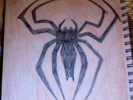 Spiderman logo by 0me0