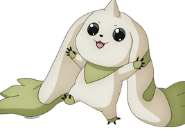 Terriermon (Digimon Tamers) by xXSteefyLoveXx
