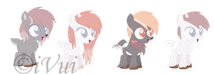 Blizzy Breedable Foals for ChocoRhea ((CLOSED)) by iVuiAdopts